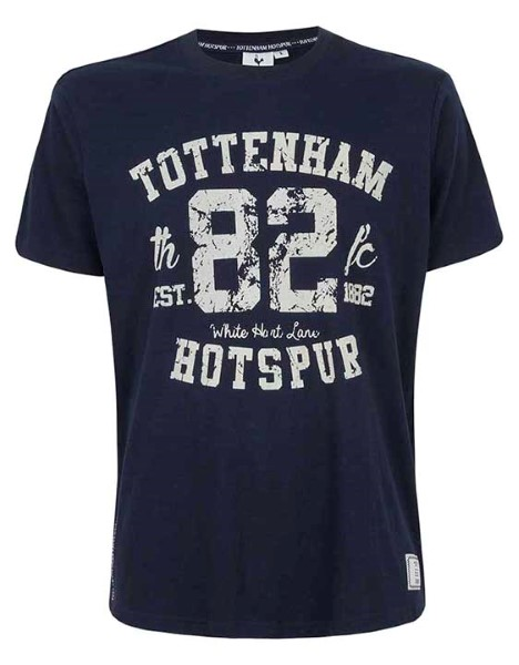Spurs Mens Tottenham Crackle Print T-Shirt