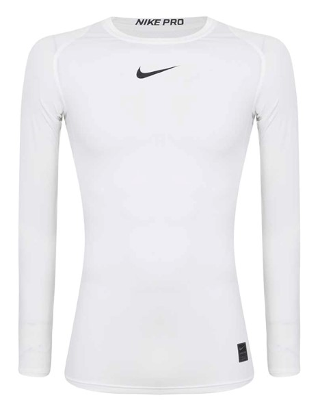 Nike Pro White Compression Top 2018/19