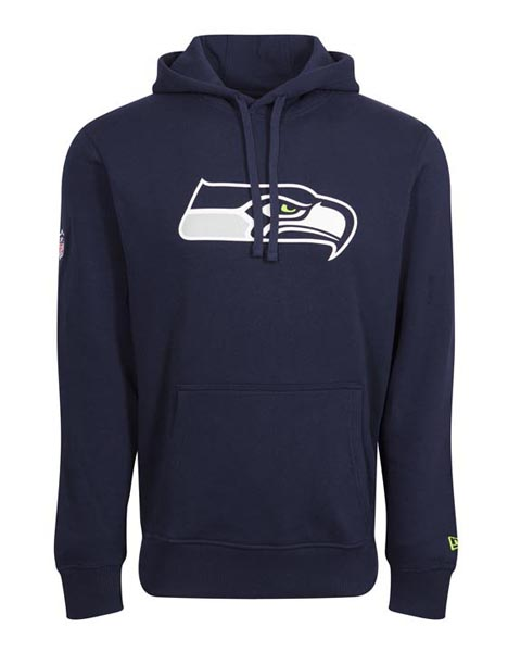 New Era Adult Seattle Seahawks Logo Hoodie