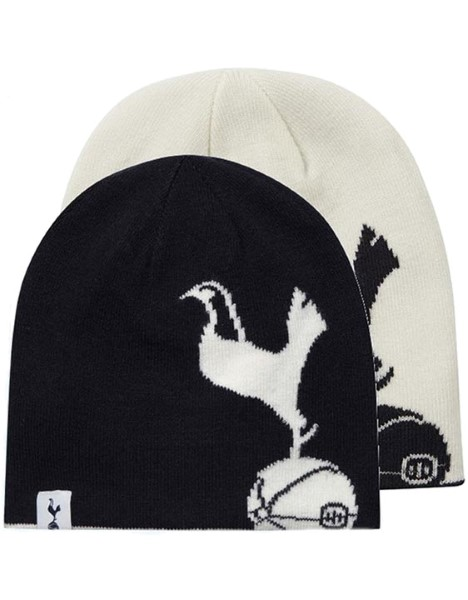ADULT NAVY/WHI REVERSIBLE CREST BEANIE