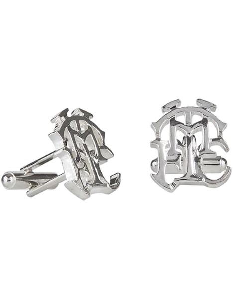 SILVER PLATED THFC CUFFLINKS