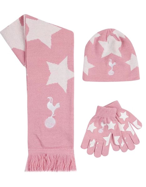 KIDS PINK STAR 3PC SET