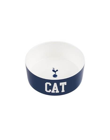 CREST CAT CERAMIC BOWL