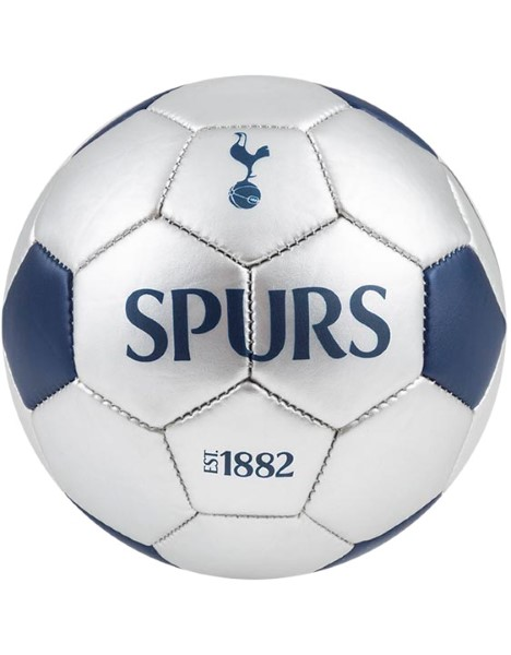 SPURS SILVER SIZE 5 FOOTBALL