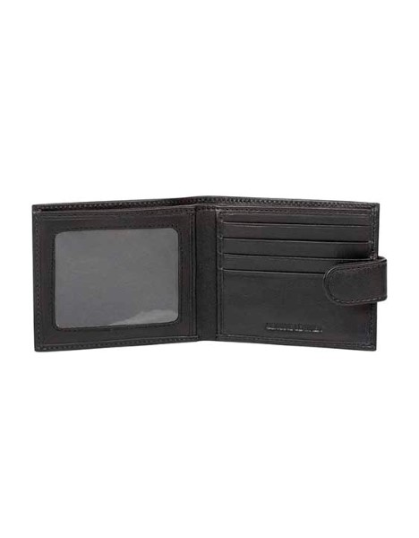 BOXED LEATHER WALLET