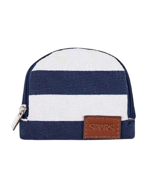 STRIPE SMALL CANVAS PURSE