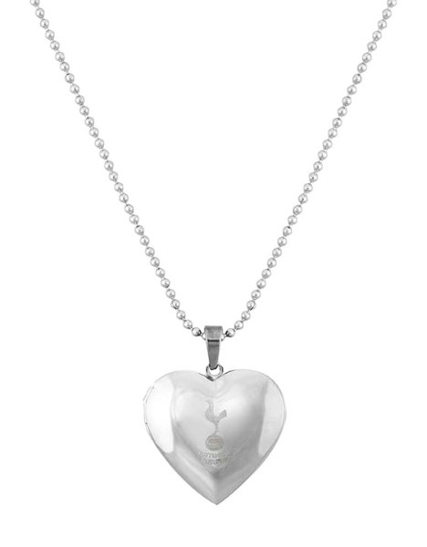 ST.STEEL HEART PENDANT AND CHAIN