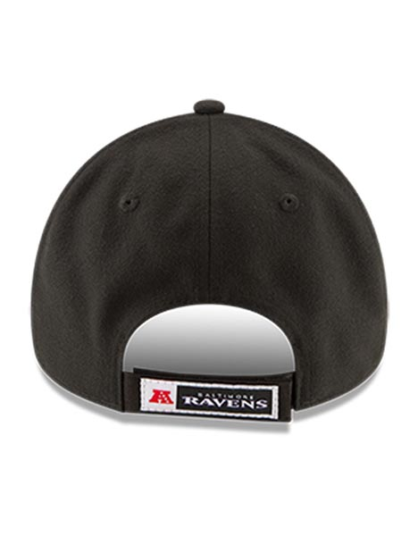 NEW ERA BAL BLK 9FORTY LEAGUE CAP