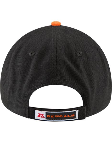NEW ERA CIN BLK 9FORTY LEAGUE CAP