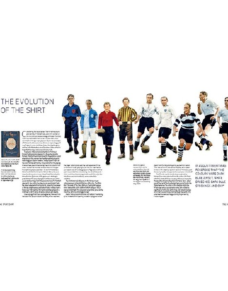 SPURS SHIRT BOOK