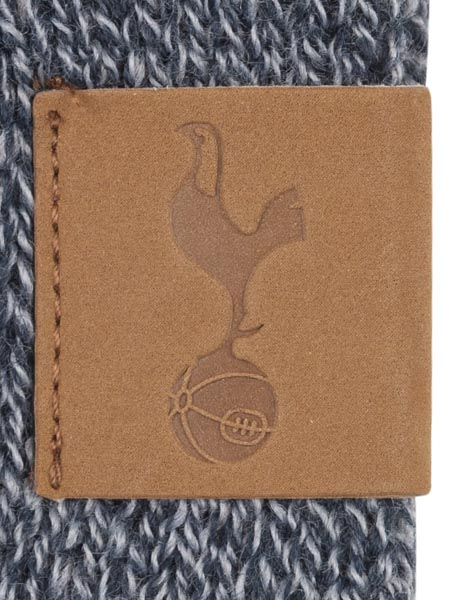 SPURS NAVY MIXED MARL SCARF