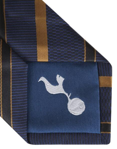 NAVY/GOLD STRIPE TIE