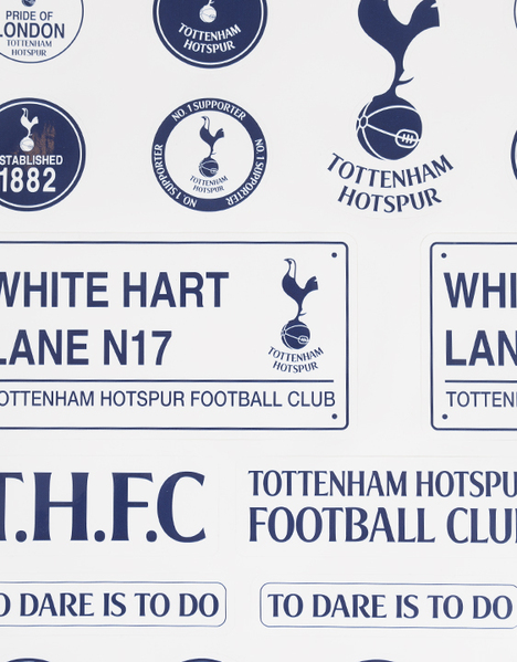 SPURS TH29911 JUMBO STICKERS