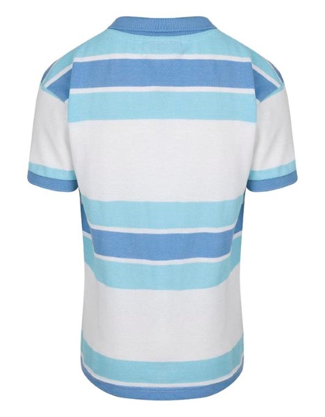 Spurs Boys Block Stripe Polo