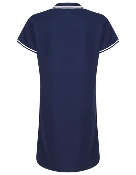 Youth Girls Polo Collar Dress