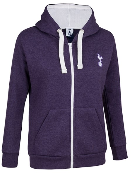 Spurs Girls Full Zip Hooded Top
