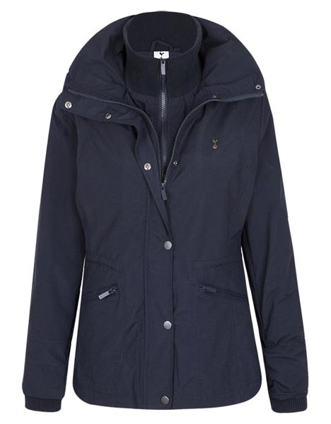 Spurs Womens Funnel Neck Jacket
