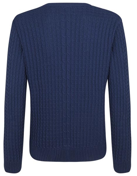 Spurs Mens Cable Jumper