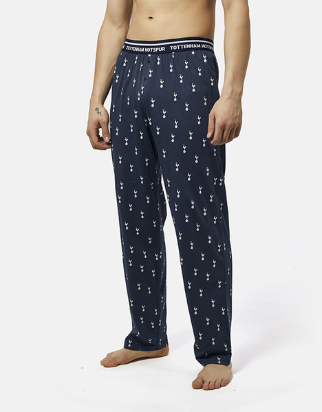 Spurs Mens All Over Print Bottoms