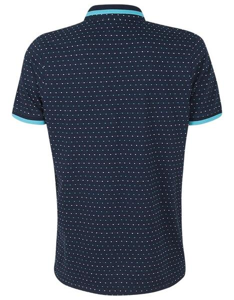 Spurs Mens Square Pattern Polo