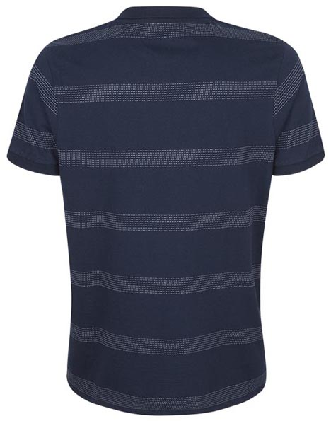 Spurs Mens Plain And Dot Stripe Polo