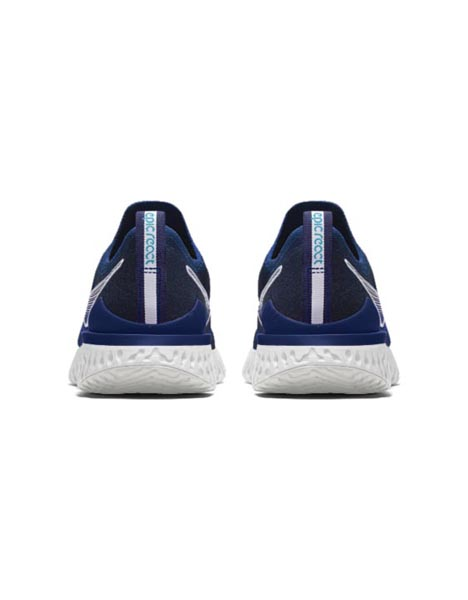 Spurs Nike Navy Epic React Flyknit 2 Trainers