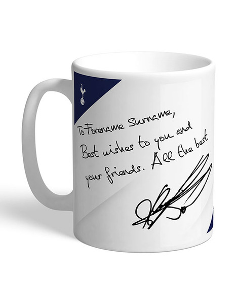 PERSONALISED SON AUTOGRAPH MUG