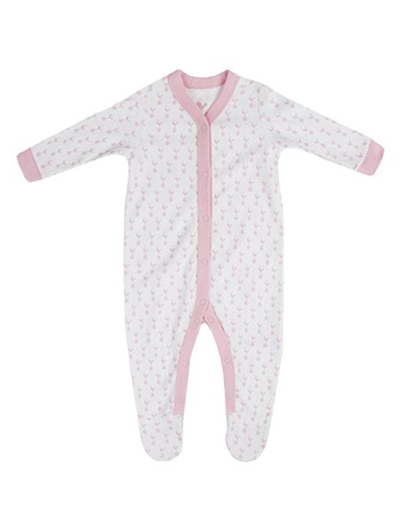 Spurs Baby Girls Sleepsuit