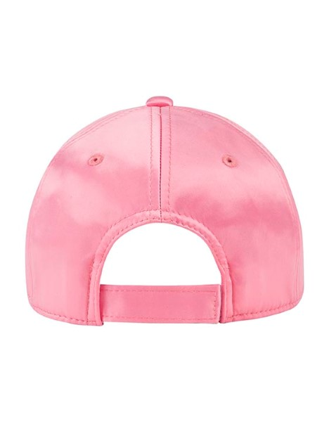 SMALL KIDS PINK SATIN CAP