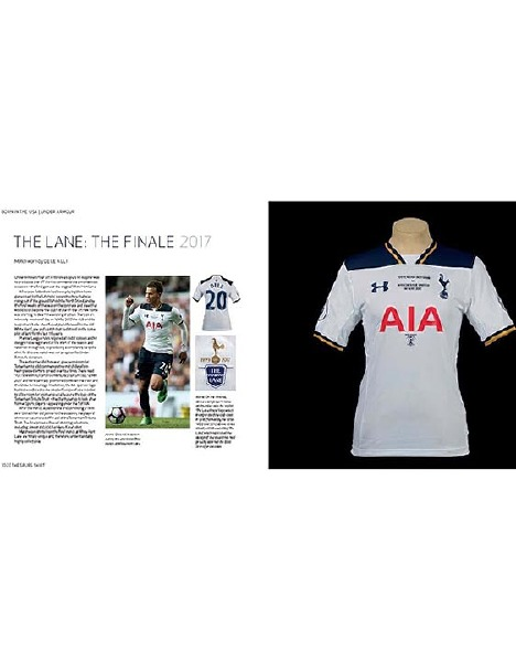 8a86b2f9475 Spurs Shirt Book | Official Spurs Shop