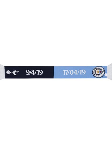 SPURS V MAN CITY FRIENDSHIP SCARF