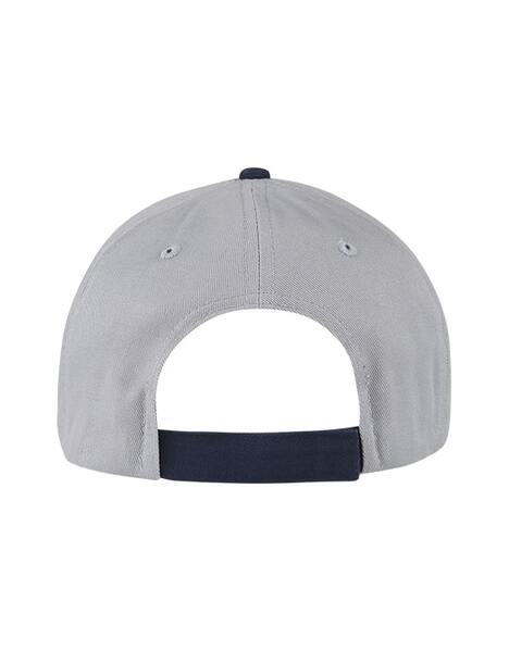 ADULT GREY/NAVY STRIPE SPURS CAP