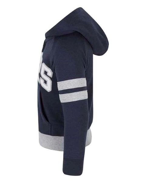 Spurs Boys Applique Zip Through Hoodie