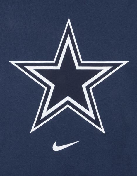 Nike Youth Dallas Cowboys Logo T-Shirt