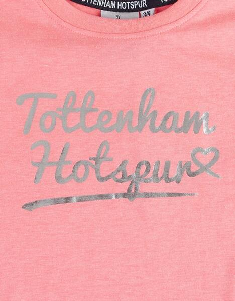 Youth Girls Tottenham Hotspur Foil Print T-Shirt