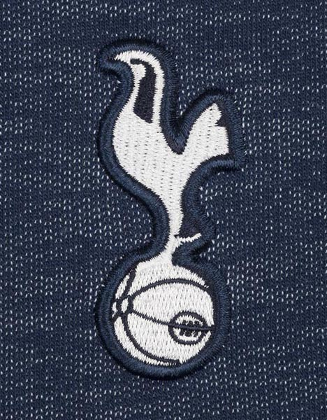 Spurs Mens Mixed Fabric Sweat Top