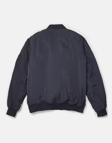 POCKET DETAIL BOMBER