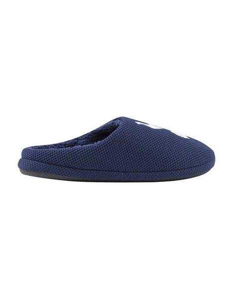Spurs Mens Textured Mule Slippers