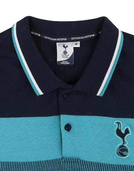 Spurs Mens Jacquard Front Polo