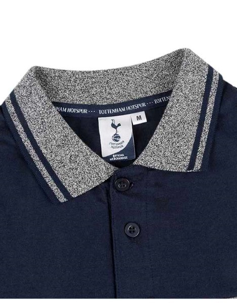 Spurs Mens Marl and Solid Mixed Polo