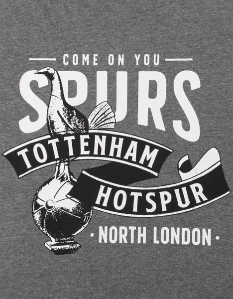 Spurs Mens Old Crest T-Shirt