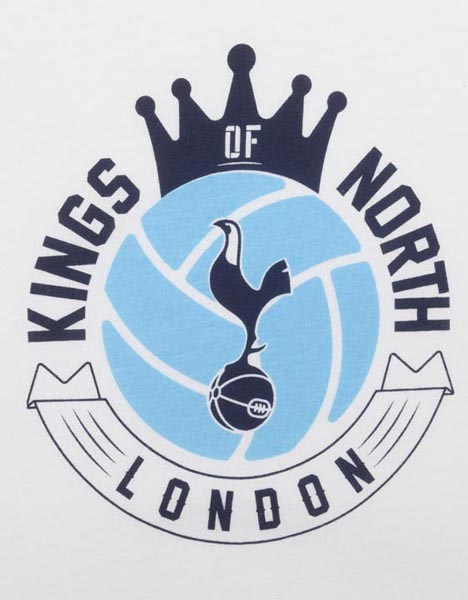Spurs Adult Kings Of North London T-Shirt | Official Spurs Shop