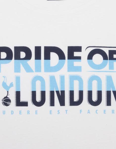Spurs Adult Pride Of North London T-Shirt