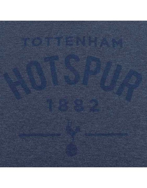 Spurs Mens Acid Wash Tottenham Hotspur T-shirt