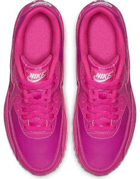 Nike Kids Air Max 90 Leather Trainers