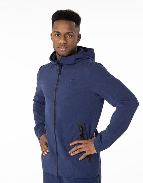 Spurs Nike Adult Navy Tech Pack Hoodie 2019/20