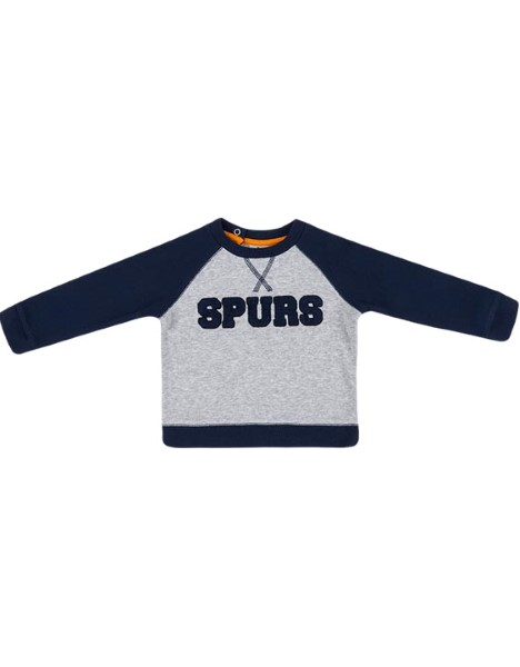 Spurs Baby Boy Applique Sweat Top