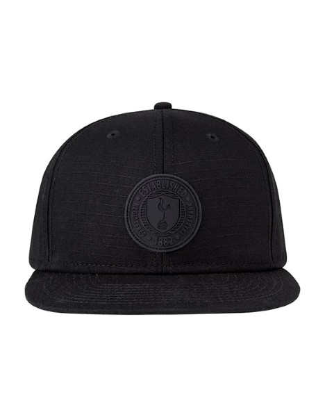 SPURS BLACK RIPSTOP SNAP BACK