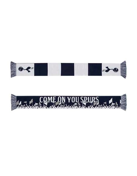 COME ON YOU SPURS FAN SCARF