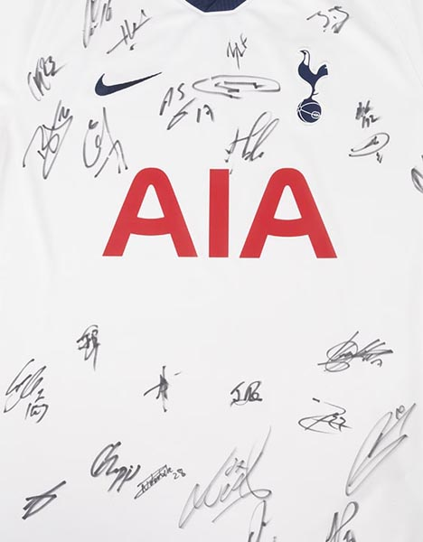 2019/2020 BOXED SIGNED SHIRT